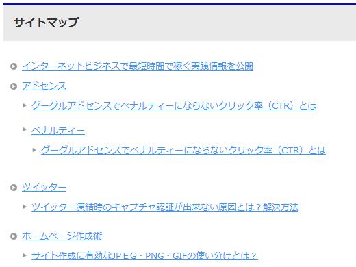 PS Auto Sitemap,サイトマップ