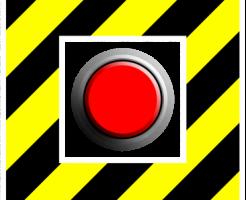 動くボタン
