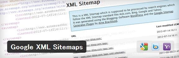 Google XML Sitemaps,ワードプレスプラグイン