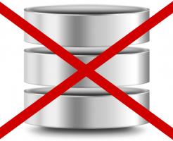 SQLデータベース消去